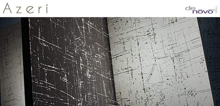 Black and White Wallcovering, Azeri DeNovo Commercial Wallcovering from Levey