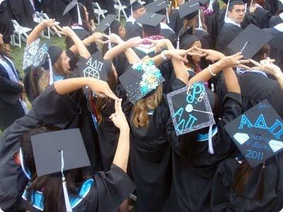 More than a ritual or a symbol.: Graduation Cap, Remember This, Grad Cap, Graduation Pictures, Graduation Diamonds, Adpi Till, Adpi Pr, Alphadeltapi, Alpha Delta Pi