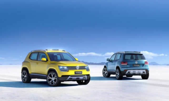 Sao Paulo 2012: Volkswagen Taigun Three-cylinder SUV Revealed