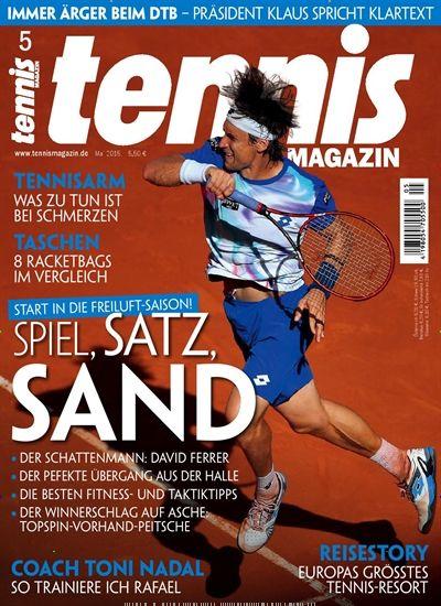 Start in die Freiluft-Saison - Spiel, Satz, Sand. Gefunden in: tennisMAGAZIN - epaper als Download kaufen, Nr. 5/2015