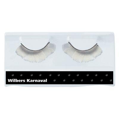 Nepwimpertjes met witte veertjes  Nepwimpers met witte veren. Opvallende wimpers met witte veertjes inclusief wimperlijm. Deze wimpers maken u kostuum helemaal compleet.  EUR 6.99  Meer informatie
