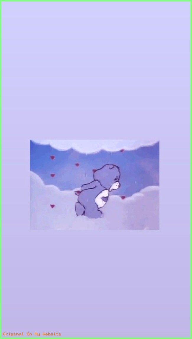Iphone Wallpaper Aesthetic Care Bear 90s Cartoon Wallpaper Iphonewallpaperaestheticneon Ipho Papier Peint D Art Fond D Ecran Ours Papier Peint Disney