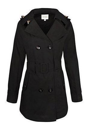 Cheap Trench Coat Deals is better to save money and price for this --->  WOMENS LADIES DOUBLE BREASTED MAC BELTED COAT CANVAS SMART JACKET TRENCH PARKA is---> £22.99