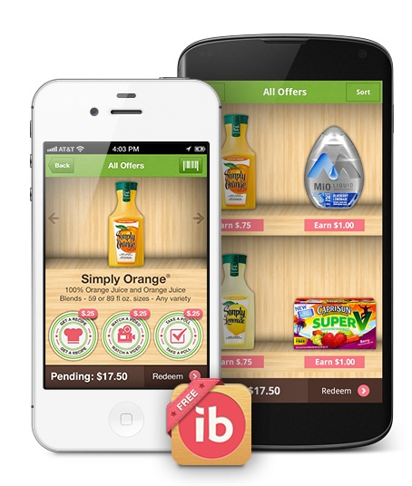 Smart phone app to get rebates for grocery shopping!
