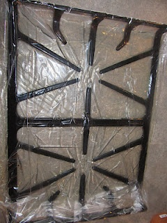 how to clean large grates on a gas stove fixes pinterest stove bags and turkey. Black Bedroom Furniture Sets. Home Design Ideas