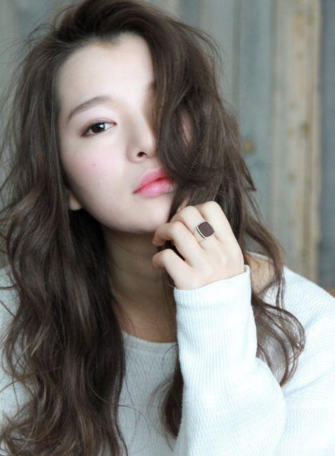 かきあげグレージュ愛されロング 【chobii】 http://beautynavi.woman.excite.co.jp/salon/27324?pint ≪…