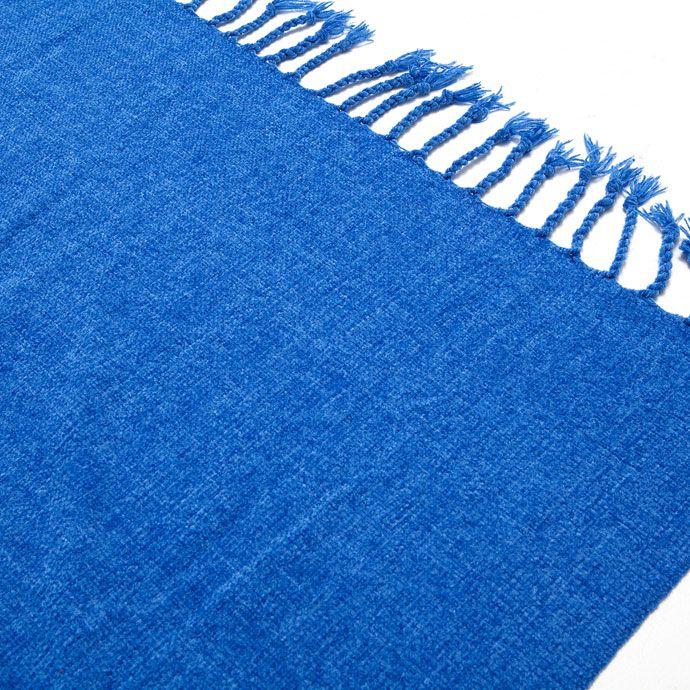 BLAUWE BASIC CHENILLE DEKEN - Dekens - Bed | Zara Home Holland