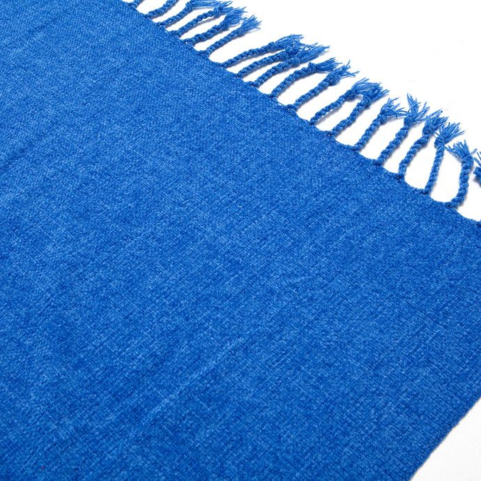 BLAUWE BASIC CHENILLE DEKEN - Dekens - Bed | Zara Home Holland