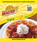Since 1937, when we developed our patented recipe for Golden Malted® Waffle & Pancake Mix, we've been creating delicious golden-brown waffles and light & fluffy pancakes.