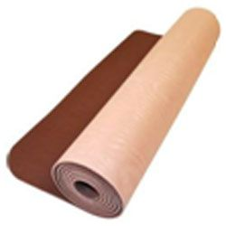 There is a yoga exercise mat structure to suit everyone. Texture impacts how much slipping and sliding you do. And because texture impacts the way a yoga mat feels, it is also a component of overall comfort. PVC yoga exercise mats, though a little bit distinctive, are typically sticky and feels soft.