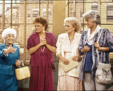 The Golden Girls...some of the best memories with my sweet Grandma.