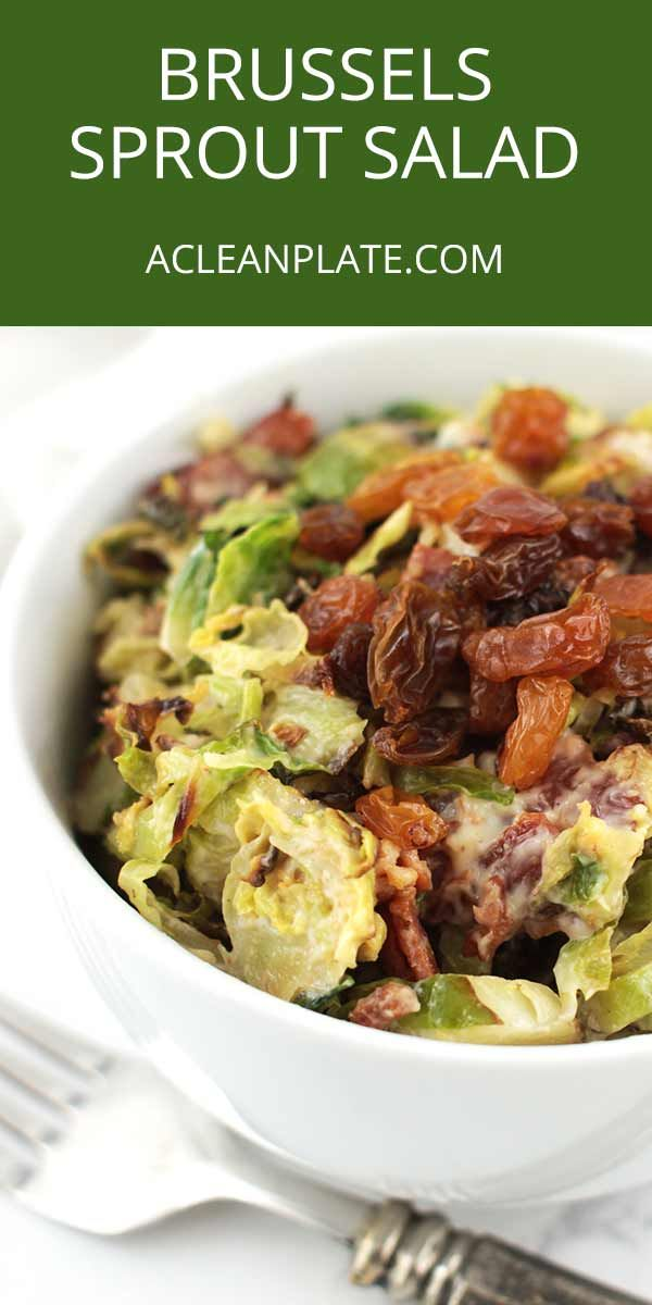 Brussels sprouts are one of the most nutritious vegetables, so it's in our best interest to find tasty ways to eat more of them. My favorite way? This Roasted Brussels Sprouts Salad! https://www.acleanplate.com/recipe/roasted-brussels-sprouts-salad/