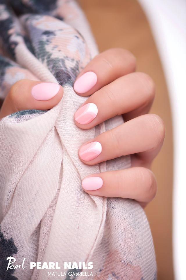 Felhasznált anyagok /Nails made with: PearLac Matte One Step 026 gél lakk (gel lac).  #pearlnails #nailstagram #gellac #géllakk #pinknails #pastelnails