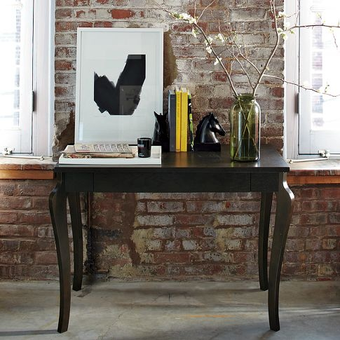 right desk wrong color small desk from west elm