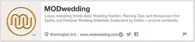 MODwedding | The 25 Best Pinterest Accounts To Follow When Planning Your Wedding