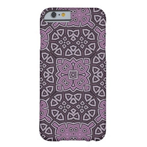 Purple Abstract Pattern iPhone 6 Case