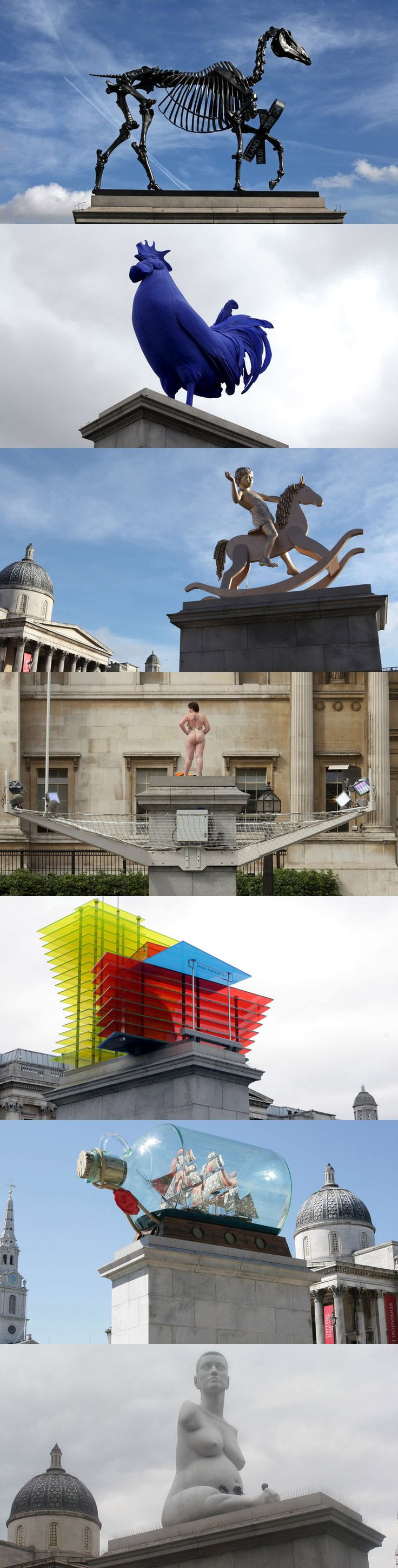 VOTE for your favourite artwork from the Fourth Plinth so far: http://www.timeout.com/london/art/whats-londons-favourite-fourth-plinth-artwork