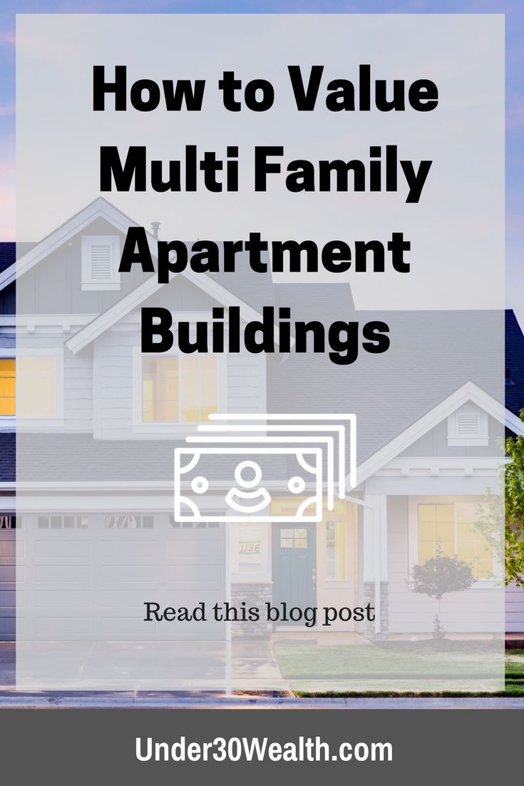 How To Value Multi Family Apartments With Cap Rates With Images