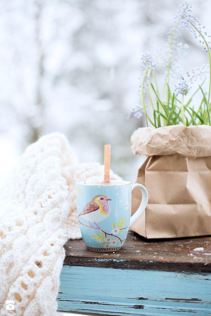 KUBEK EARLY BIRD NIEBIESKI DUŻY - PIP STUDIO - zdjęcie od Decodore basic - Kuchnia - Styl Skandynawski - Decodore basic