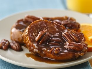 Baked Caramel-Pecan French Toast Recipe #brunch