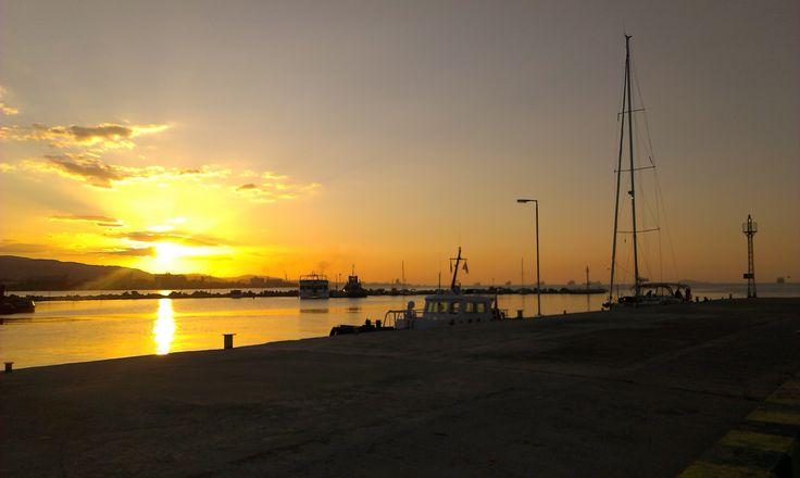 Dawn at Corinth Canal....@Isthmia