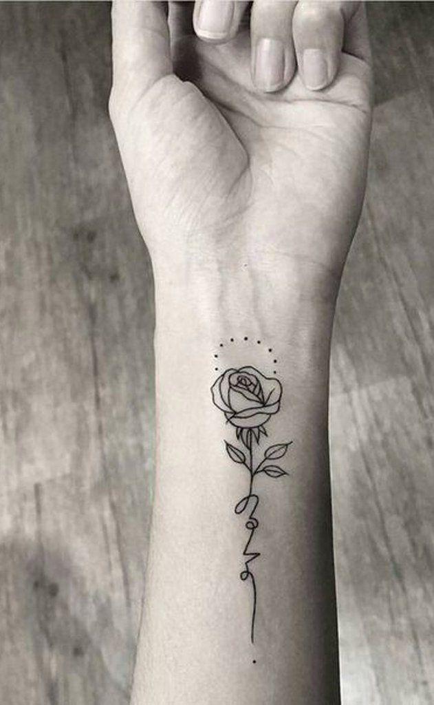 100 Trending Watercolor Flower Tattoo Ideas For Women Rose Tattoos On Wrist Single Rose Tattoos Tattoos