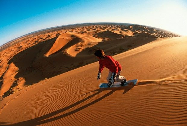 Bucket List: Go SandBoarding