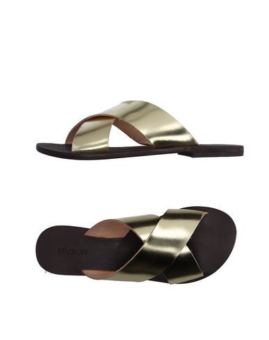 Cb Fusion Women Sandals on YOOX. The best online selection of Sandals Cb Fusion. YOOX exclusive items of Italian and international designers - Secure payments - Free Retu...