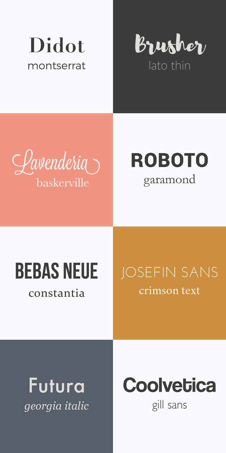 Célèbre Best 25+ Typography logo ideas on Pinterest | Typography logo  ZL48