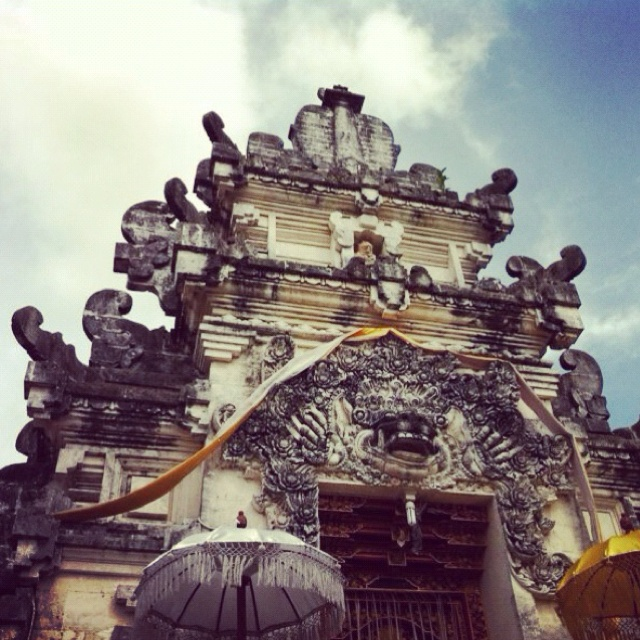 Inner-gate at a temple | Bali, Indonesia