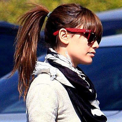 Rachel Bilson ponytail
