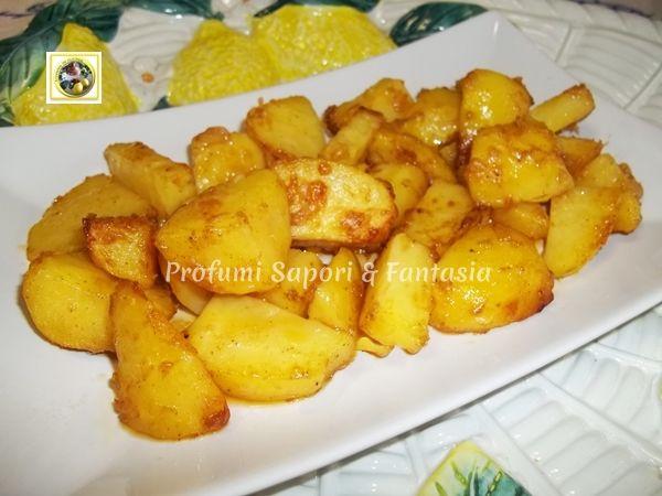 Patate al forno gratinate con paprika e parmigiano  Blog Profumi Sapori & Fantasia