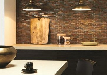 NEW - Naga mixed stone mosaics have a brickbond shape which adds interest. Perfect for grown up sophistication. By Original Style.