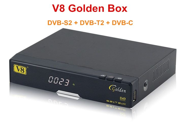 179.01$  Buy here - http://ali09i.worldwells.pw/go.php?t=32595589899 - 3pcs V8 Golden FHD DVB-S2+T2+Cable Satellite Receiver Support Full PowerVu, DRE &Biss key Support ,IPTV,Youtube,Youporn,Redtube