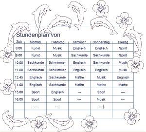 Ber ideen zu stundenplan schule auf pinterest to - Malvorlage stammbaum ...