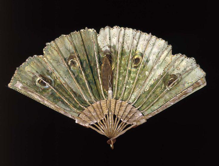 Luna Moth fan @ the Museum of Fine Arts, Boston