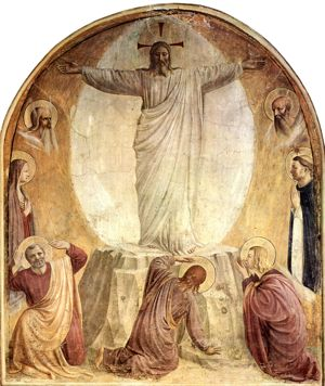 The Transfiguration by Fra Angelico, Dominican Convent of St. Mark in Florence, Italy (Photo © flickr user carulmare; licensed under Creative Commons Attribution 2.0 Generic)