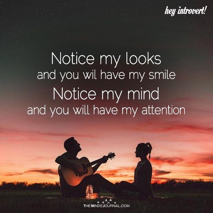 Notice My Looks And You Will Have My Smile - https://themindsjournal.com/notice-looks-will-smile/