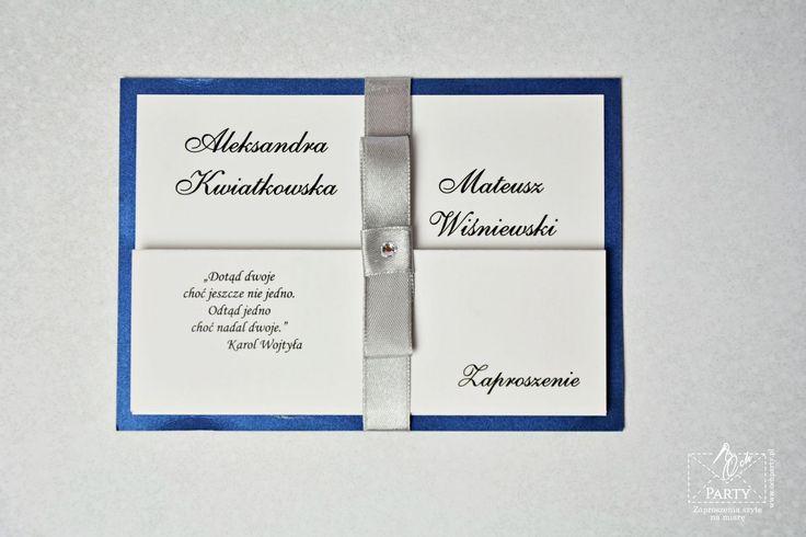 Zaproszenie ślubne składane - harmonijka na podkładce z papieru perłowego (metalizowanego) #ślub #slub #zaproszenia ślubne #zaproszenia slubne #zaproszenia na slub #weeding