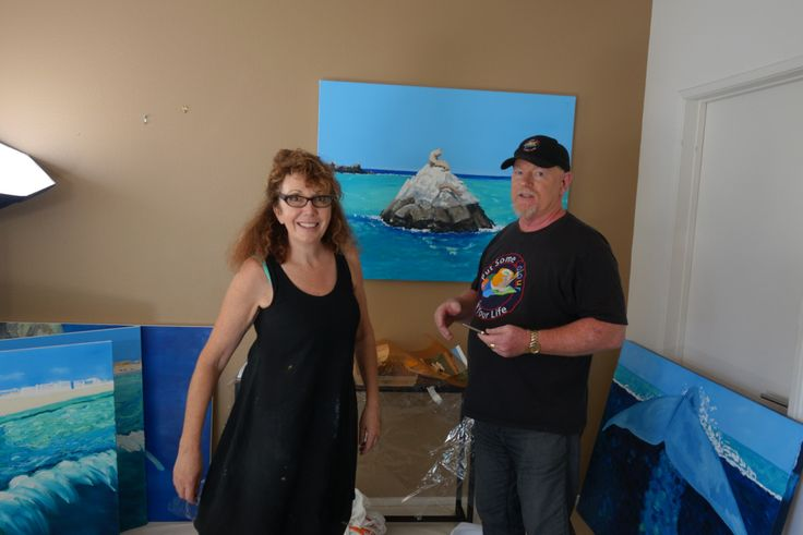 Painting Long Beach in CaliforniaWith Stephanie Burns on Colour in Your Life In MayIflew out to Los Angeles to paint coastal scenes of…