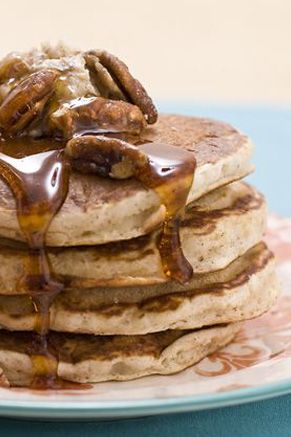 Paula Deen Cinnamon Nut Pancakes