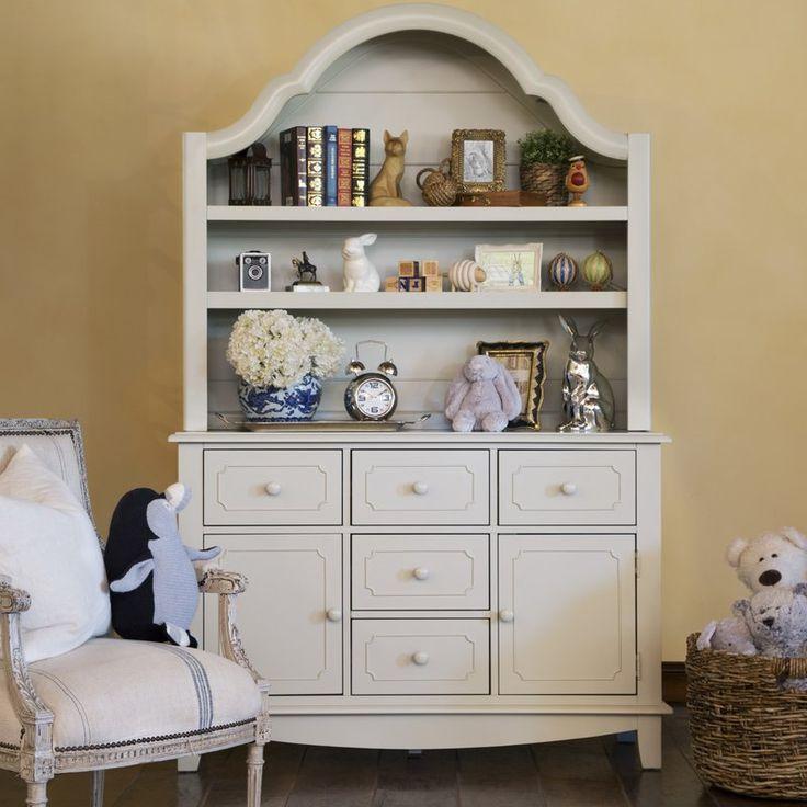Sullivan 7 Drawer Standard Dresser With Hutch