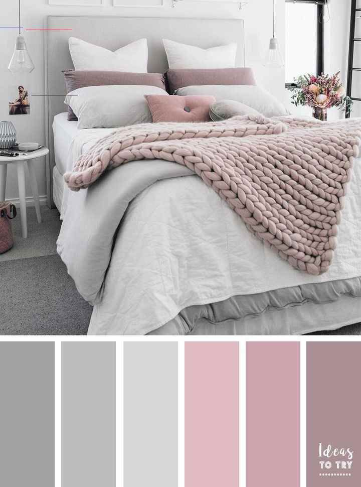 Pale Pink Bedroom With Wooden Furniture And Woven Accessories Bedroomcolor Bedroom Color Pink G In 2020 Bedroom Colors Bedroom Color Schemes Gray Master Bedroom