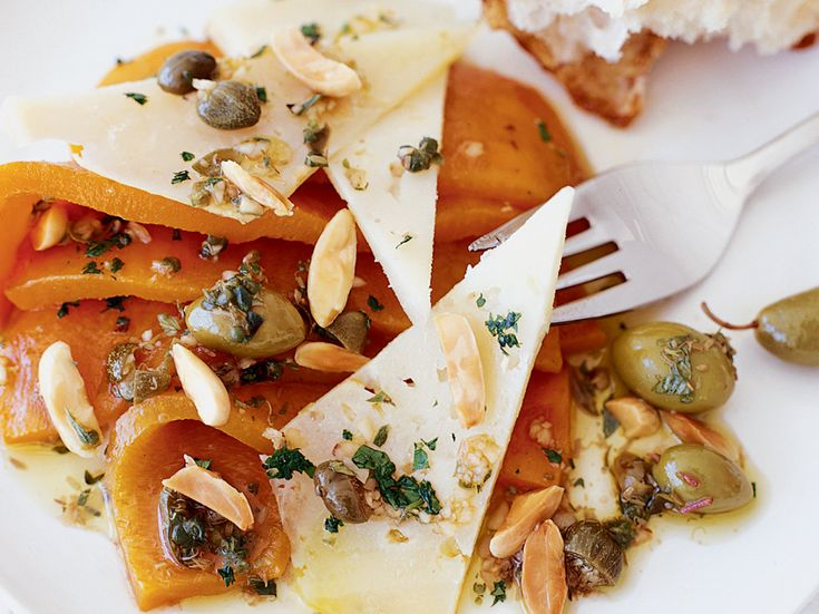 Sweet Pepper Salad with Manchego and Almonds | Plus: More Appetizer Recipes and Tips ...
