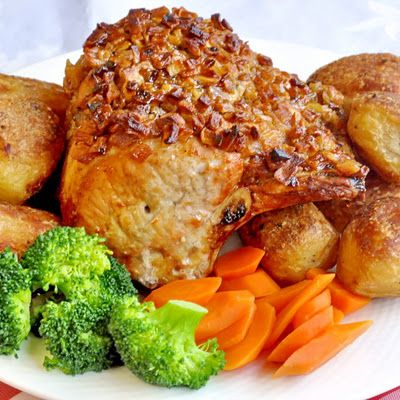 Apple roasted pork loin from Rock Recipes -The Best Food & Photos from my St. John's, Newfoundland Kitchen.: Best Sunday Roast Dinners