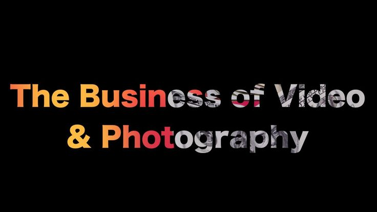 The Business of video and photographyhttps://www.skillfeed.com/courses/8559-the-business-of-video-and-photography