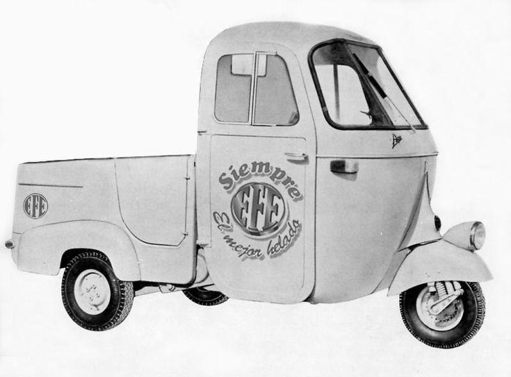 Camioneta Helados EFE
