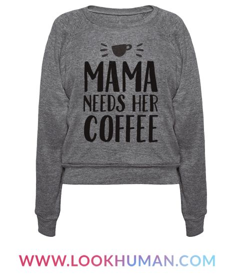 This shirt is perfect for the mom who needs at least one cup of coffee to survive the kids and all the appointments and soccer practices. If you just need one large cup of steaming hot coffee, you might as well wear this cool design to your favorite coffee shop - you could get a free drink!
