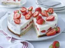 Aardbeienroomtaart - Recept - Allerhande