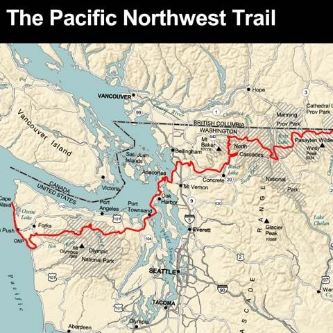 Best Pacific Northwest Trail Ideas On Pinterest Northwest - Northwestern us map